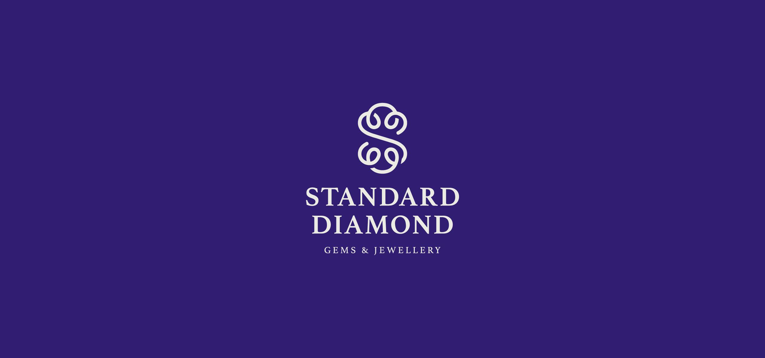 Logo for Gems & Jewellery Company in Bangkok. Jewelry Company Brand Logo.