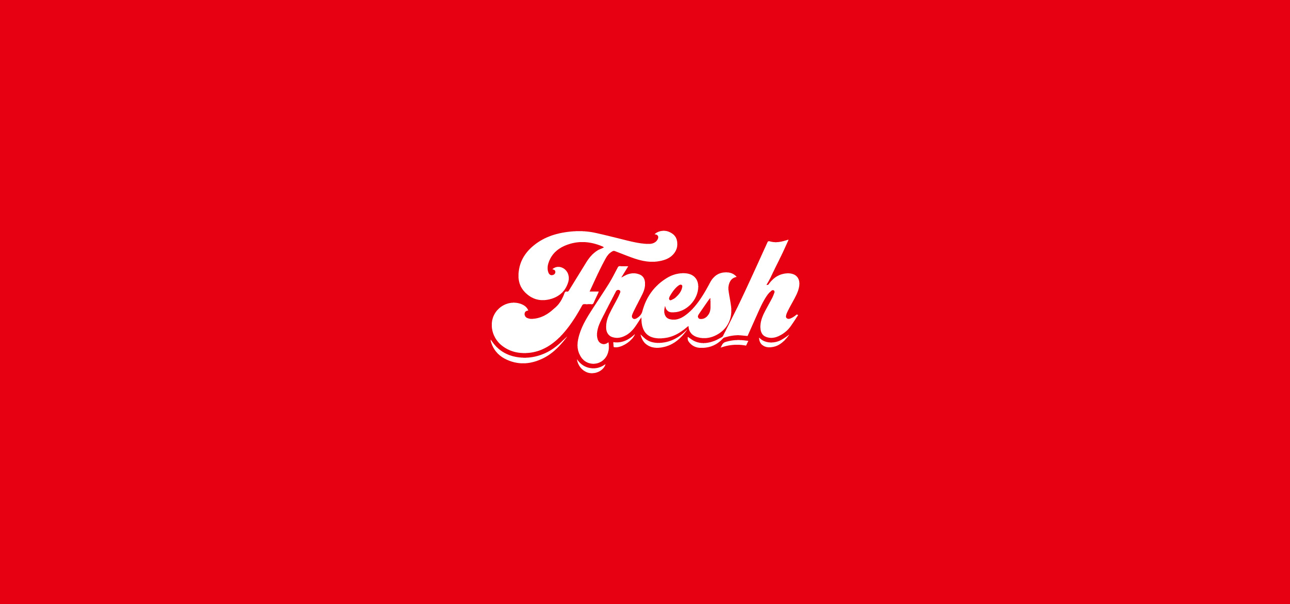 Fresh Organic Groceries Shopping in Your Doorstep Logo Lettering. Fresh Food Brand Logo.