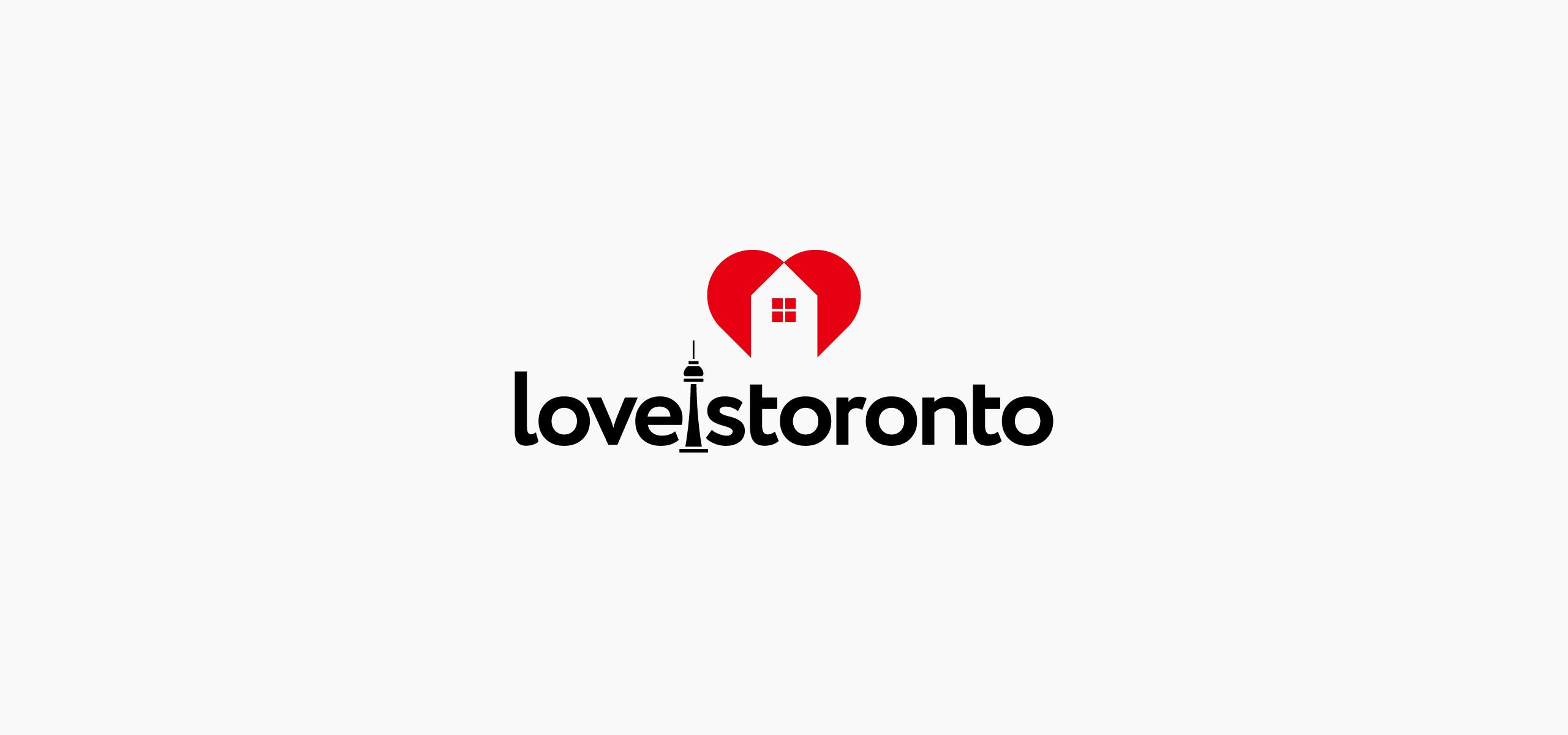 Logo for Toronto Real Estate Brokerage. Real Estate Brand Logo. Company Identity.