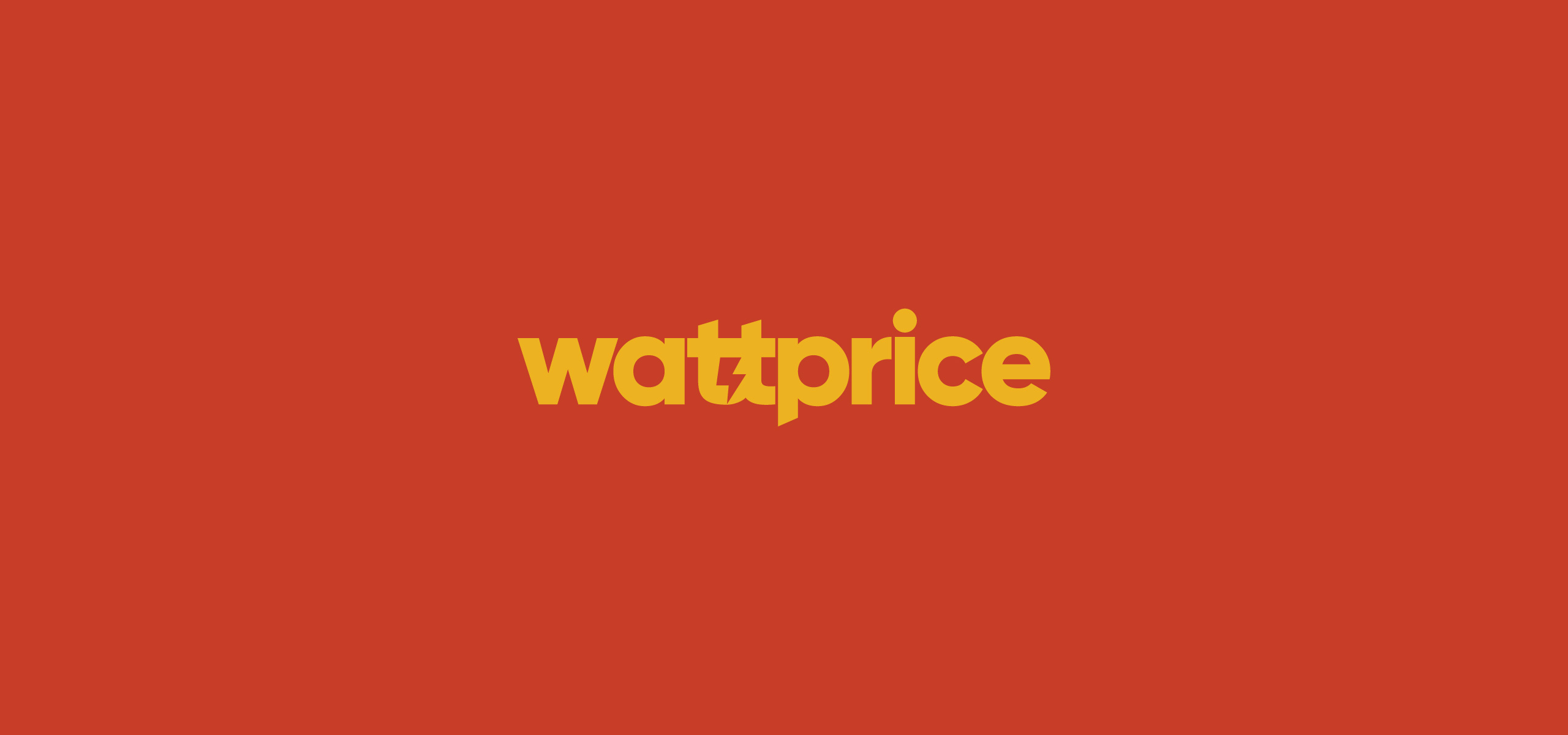 Electrical Services Company Wattprice based in Singapore. Industrial Company Brand Logo.